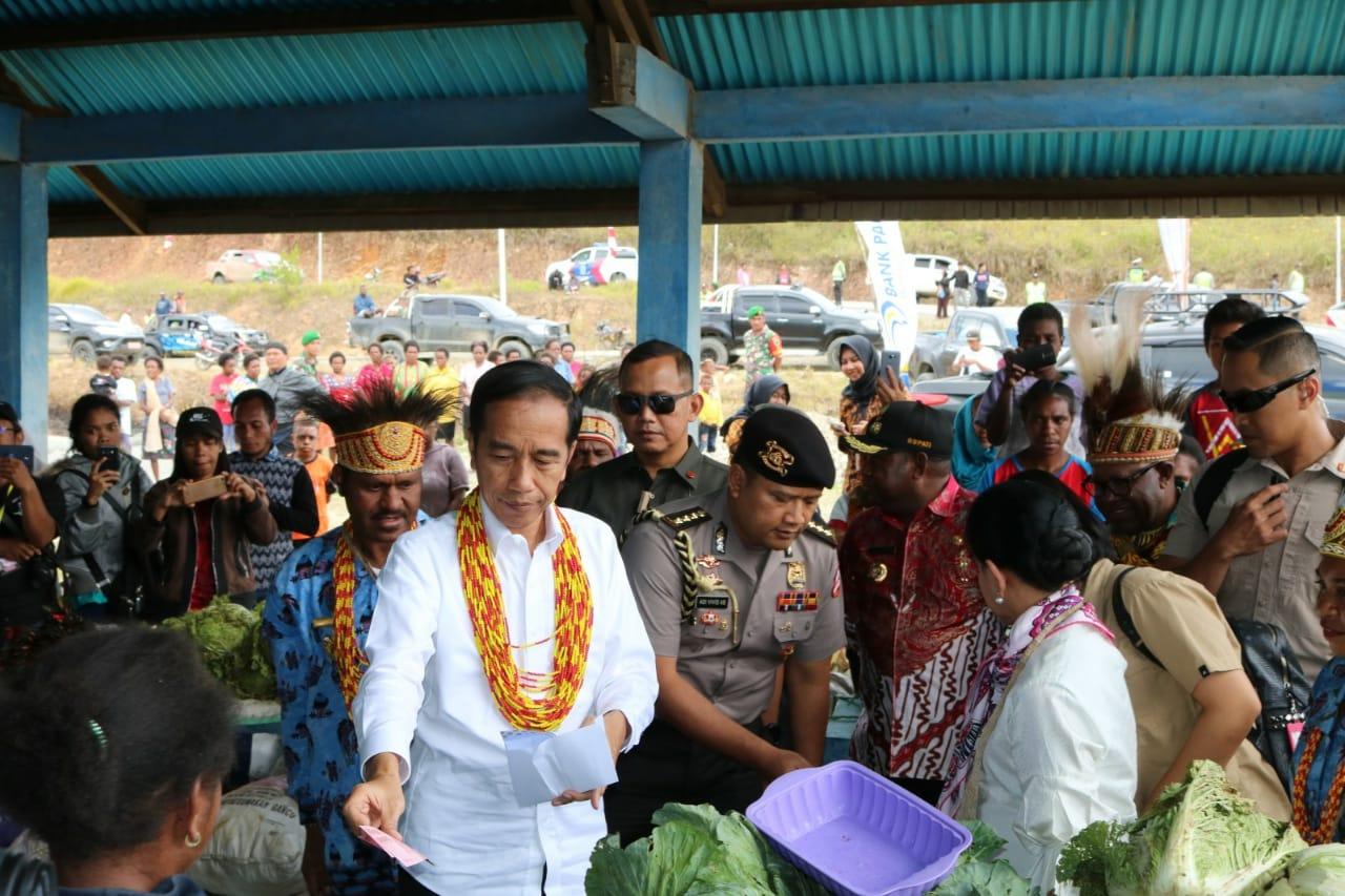 Kunjungan Kerja Presiden Joko Widodo ke Anggi