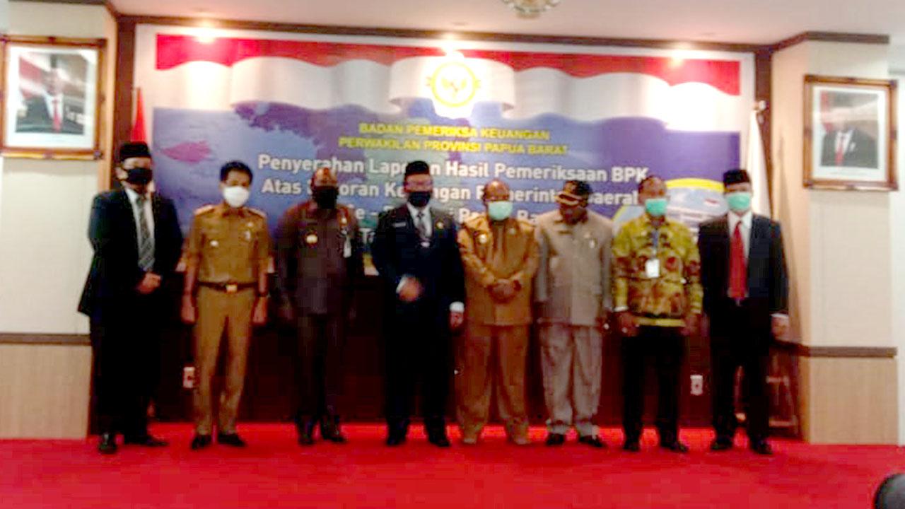 Kabupaten Pegaf Mendapat Opini WDP dari BPK