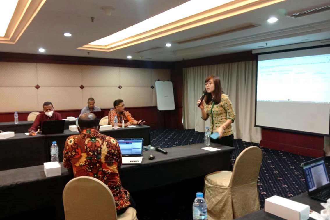 Bappeda dan BPKAD Kabupaten Pegunungan Arfak Ikuti Bimtek Sistem Informasi Pemerintah Daerah